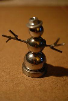 Welded Art - dremeWORKS-snowman