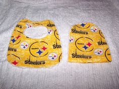 Pittsburg SteelersFootball Team Baby Boy Girl  by sososophie, $10.00