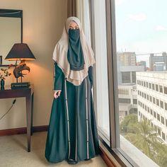 Hijab Niqab, Muslim Hijab, Muslim Dress, Hijab Dress, Hijab Outfit, Niqab Fashion, Modest Fashion, Muslimah Wedding Dress, Hijab Collection