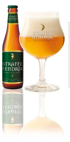 Straffe Hendrik / De Halve Maan. Another great Belgian beer.