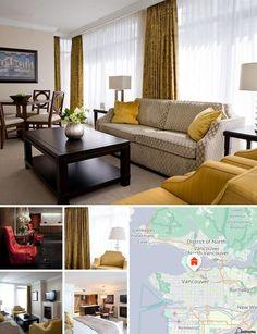 Este hotel urbano, adecuado para familias, se ubica en la esquina de las calles Richards y Robson, en el mismísimo corazón del distrito de compras y ocio más de moda de Vancouver, a solo unas manzanas de su centro financiero.