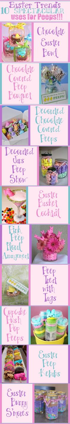 Easter Trends ::: 10 Spectacular Uses for Peeps