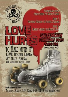 My league! Game one of 2013. Love Hurts: To Hale With It! February 16th at Hale Arena in KCMO!