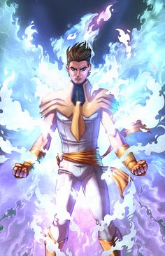 Here is my OC, Jeremy Summers. He is the son of Scott and Jean Grey-Summers and ultimately takes on the White Phoenix of the Crown. Jeremy Summers, White Phoenix of the Crown Superhero Characters, Dc Comics Characters, Fantasy Character Design, Character Inspiration, Comic Books Art, Comic Art, Phoenix Marvel, Alternative Comics, Marvel Comics Art