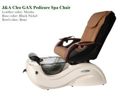 The Cleo GX Pedicure Spa features a glass bowl with a beautifully contoured base, together with the firm support of a shiatsu massage chair, making it perfect for any day spa and salon. Spa Pedicure Chairs, Pedicure Spa, Nail Salon Equipment, Shiatsu Massage Chair, Nail Salon Furniture, Spa Chair, Acupressure Treatment, Spa Day, Glass