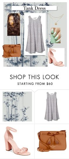 """Tank dress set"" by shekb ❤ liked on Polyvore featuring Misha, Gap, Avec Les Filles, White Label and Kate Spade"