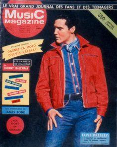 Music Magazine - Elvis cover