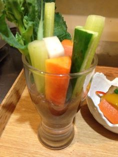 スティック野菜 バルサミコ風ディップ