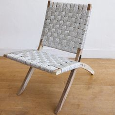 Silver Studio Folding Chair