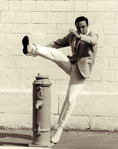 Gene Kelly, great dancer and actor.