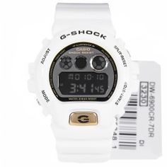 c55dd80ecd78 Casio G-Shock White Mens Digital Watch DW-6900CR-7DR DW6900CR