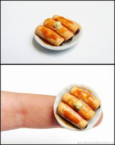 Miniature Pigs in a Blanket by *Bon-AppetEats on deviantART