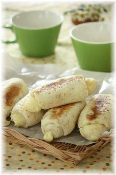 胡麻チーズのフライパン・パン