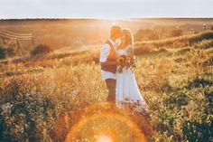 Beautiful sunset wedding photography | Country Wedding by Marina Nazarova Photographer | http://www.bridestory.com/marina-nazarova-photographer/projects/country-wedding