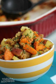 baked breakfast potatoes- No Diets Allowed