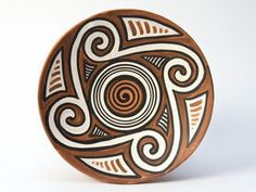 V Native American Pottery, Native American Art, Ancient Symbols, Ancient Art, Ceramic Pottery, Ceramic Art, Baby Tattoos, Stone Art, Stone Painting