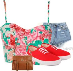 """Summer Lovin'"" by llanobasin on Polyvore"