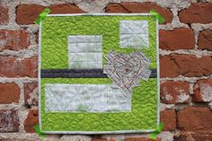 https://flic.kr/p/ogKmWX | Town and County, A study in Contrast around the theme of Urban | 12 inch square art quilt lollyquiltz.blogspot.com/2014/08/town-and-country-art-qui...
