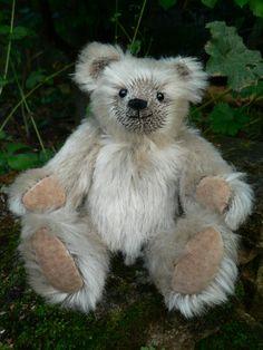 Larry OOAK Handmade Miniature Mohair Teddy Bear By Lisabears. $47.50, via Etsy.