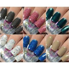 """""""Let's get Acquainted"""" Collection The entire """"Let's get Acquainted"""" Artisan Nail Glaze Collection. 6 bottles, plus a glass nail file, and free shipping."""