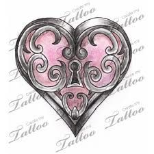 1000 images about heart tattoo on pinterest heart for Gilded heart tattoo