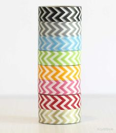 Have I told you recently how much I love washi tape? Oh, I have. Well, you must checkout cutetape.com for their amazing selection, then you will be in love too.
