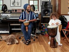 Tour Ziggy Marley's Elegant Yet Family-Friendly California Home