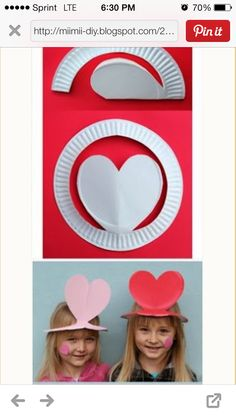 Make silly hats for the nursery kids?
