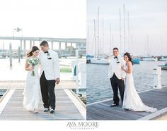 Rice Mill Feature   Destination I Do » Ava Moore Photography   Ways to give back at your wedding.  This bride added cards for her local humane society to her table centerpieces!   Waterfront wedding   harbor wedding   Charleston wedding   white tux