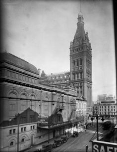 Pabst Theater and City Hall #Milwaukee