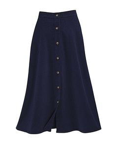 National Button-Front Corduroy Skirt, Navy, ** Be sure to check out this awesome product. Corduroy Skirt, Fashion Outfits, Womens Fashion, Style Me, Buttons, Casual, Women's Skirts, Clothes, Navy