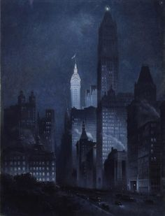 """9 West 57th Street, New York, New York"" by Rudolf Daniel Ludwig Cronau"
