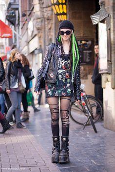 Street style: Punk, Leidsestraat Amsterdam ‹ THE VIEWFINDER