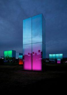 Reflection Field: Art Installation by Phillip K. Smith III
