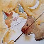 Welkom bij de kat z'n viool