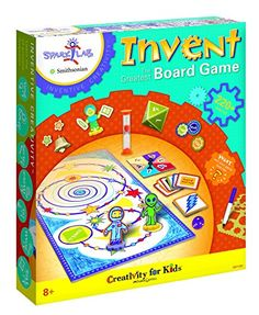 Creativity For Kids SparkLab Smithsonian Invent the Greatest Board Game -- Visit the image link more details. Note:It is affiliate link to Amazon.