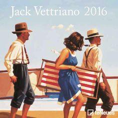 Jack Vettriano Mini Calendar 2016