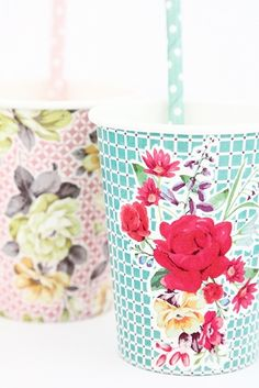 Vintage Tea Cups £3.35 - Party Themes - Vintage Tea | Party Bag Ideas | Luxury Party Bags | The Little Things, UK