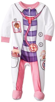 Doc McStuffins Baby-Girls Infant Microfleece Blanket Sleeper, Multi, 24 Months