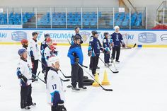 Tackla hockey. 2017 IIHF Hockey Development Camp - at Vierumäki Sport Center.