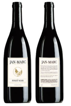 Jan-Marc 2009 Pinot Noir