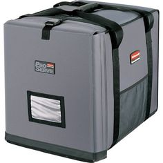 Rubbermaid Commercial Insulated FullSize  Pan Carrier Gray FG9F1300CGRAY