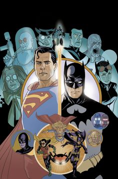 DC Heroes by Phil Noto