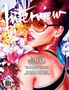 The Rihanna Interview Magazine Issue is Blazing Hot #Rihanna #Celebrity