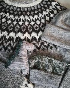 Fair Isle Knitting Patterns, Fingerless Gloves, Arm Warmers, Handmade, Crafts, Sink Tops, Iceland, Breien, Fingerless Mitts