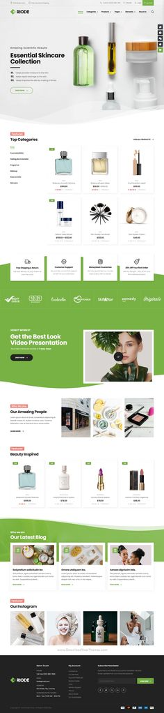 Web Design, Blog Design, Modern Design, Ui Website, Website Themes, Page Layout, Website Template, Wordpress Theme, Fashion Boutique
