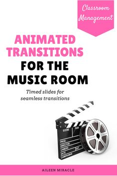 Animated transitions for the music room: Fun way to transition between songs during your first grade music lessons! Set includes animated images, animated lyrics, and songs!