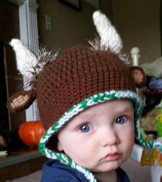 Bison Hat - Custom Made Beanie or Ear flap Buffalo Hat - Marshall University by TheKnotHaus on Etsy https://www.etsy.com/listing/205306339/bison-hat-custom-made-beanie-or-ear-flap