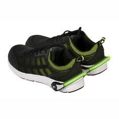 Clip con iluminación LED para calzado Verde.