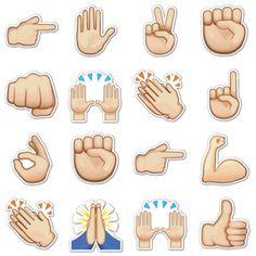 victory hand peace signs pinterest emoji stickers hand emoji